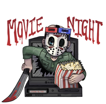 Movie Night The 13th by SamaelReaper