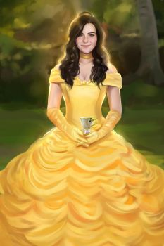 Commission Belle Princess by MartaDeWinter