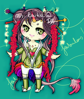 unicorn girl 001 [CLOSED] by ms-villeroy