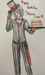 Happy Birthday ShizuoLover14 by MythicalWolfAngel