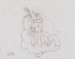 Harmony conquers all by Dalilastar
