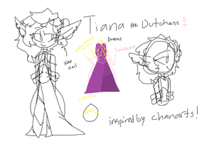 Tiana ref by TheCatQueen10