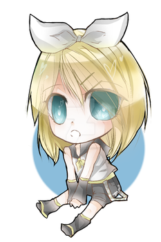 Rin Kagamine on ibispaint by fishiesticks