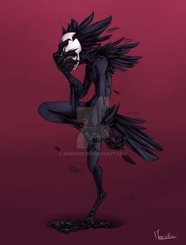 Crow by Moenkin