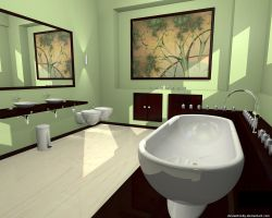 Blender Bathroom Design by VickyM72