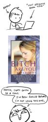 Ugly Book Covers: Bitch Are You Retarded by RomanJones