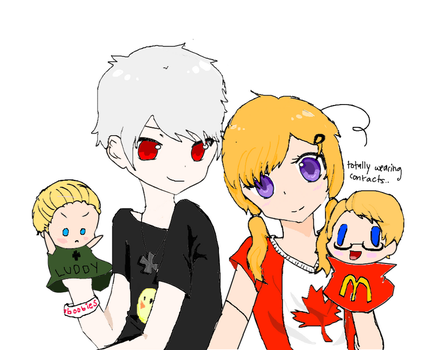 APH: PruCan: Puppets by BeautifulBlack-Soul