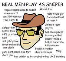 SNIPER IS SO LE MLG by flamin-hot-dawg