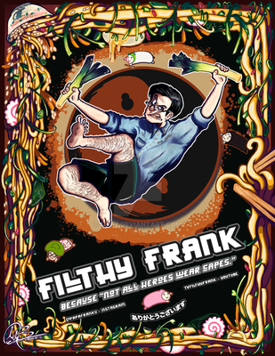 TVFilthyFrank | Poster work by MM-7