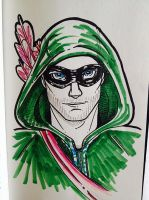 Arrow marker pen sketch by Anamated