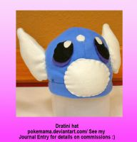 Dratini hat by PokeMama