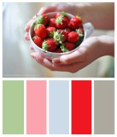 Strawberry Palette by WatashiwaKOdesu