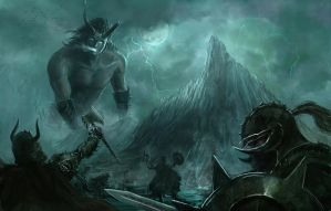 Ymir - The Frost Giant by luca540
