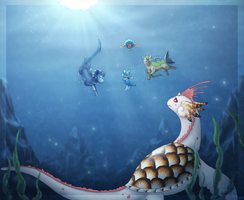+PKMNation Cold Water Dive+ by min-mew
