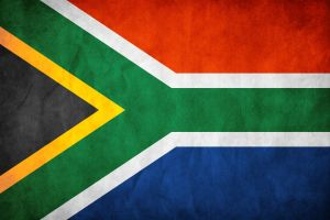 South Africa Flag Grunge by think0