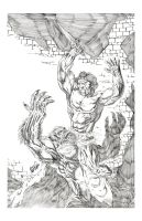 CONAN ATTACK by drawhard