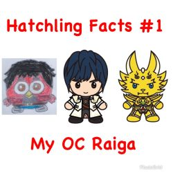 Hatchling Facts #1 - My OC Raiga by RaphaelFernandez2001