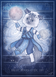 Nemo the Moon Khajiit by Isriana