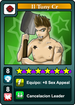 Urban Rivals Card: Il Tuny Cr by Shabul