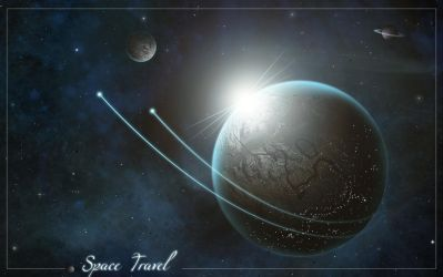 Space Travel Wallpaper Pack by DottGonzo
