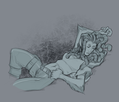 Napping Vin by fusspot