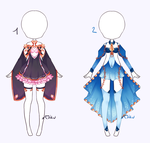 {Open 1/2} Auction Outfit 319 - 320 by xMikuChuu