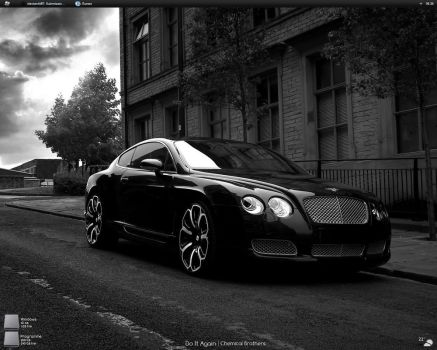 Bentley Continental GTS Desk by Marko2402