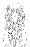 Lineart: Poinsettias by Prince-CheChe