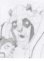 Beauty and the Beast by DixieLuve