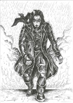 The Crow by JoeTeanby
