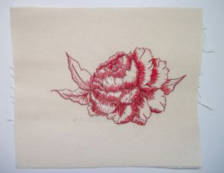 Flower (embroidery) by ThaisMelo