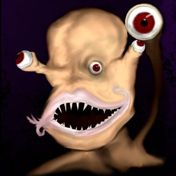 The Parasyte (WIP 2) by Syphixious