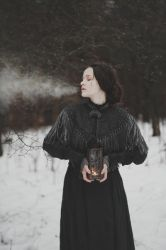When winter settles in the heart by NataliaDrepina
