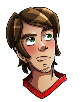 Steve Sticker by Aelith-Earfalas