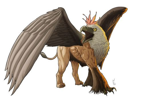 Commission: [WHA] Gryphon by StefanoMarinetti