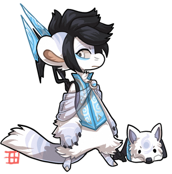 #996 Hybrid Legendary BB - Sea wolf by griffsnuff