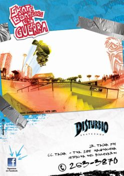 DISTURBIO skateboards by bucanero11