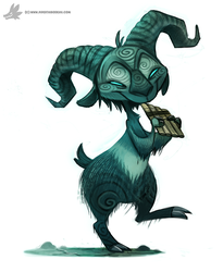 Daily Painting #926. Pan's Labyrinth by Cryptid-Creations