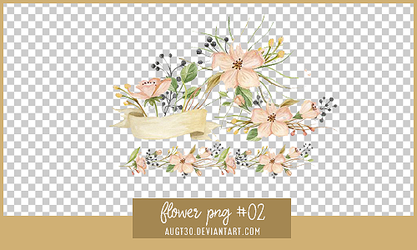 Flower PNG #2 by AugT30