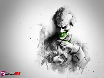 Batman Arkham City The Joker Smile City Jacket by vicky1583
