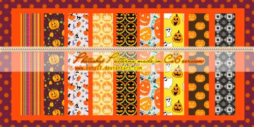 Halloween Patterns 2. by Coby17