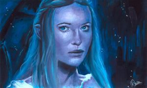 The Lady of Lorien by calderamoon