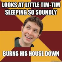 Tobuscus meme thing Safety torch by snakehands
