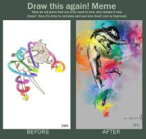 Meme: Before and After by Forever-Sam