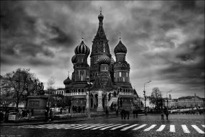 Russia Moscow Red Square by Dargonelez