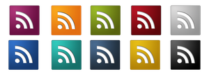 RSS Icons by WhoIsScott