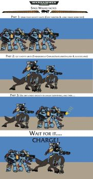 Space wolf tactics by SPARTAN-180