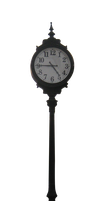 Awesome Street Clock - PNG by sparky458