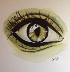 eyes by lolobild