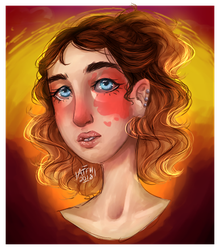 Sunset Babey | Art Fight by All-The-Fish-Here